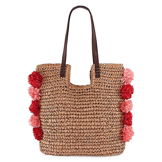 Pom Pom Tote Bag