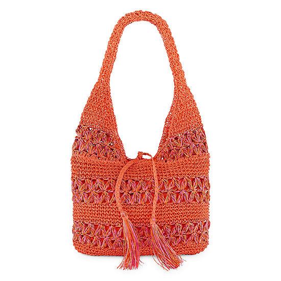 Straw Hobo Bag