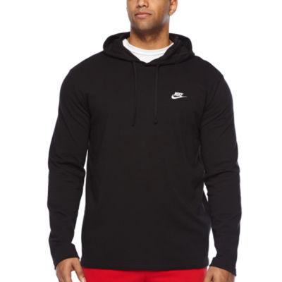 Nike Mens Long Sleeve Embellished Hoodie-Big and Tall