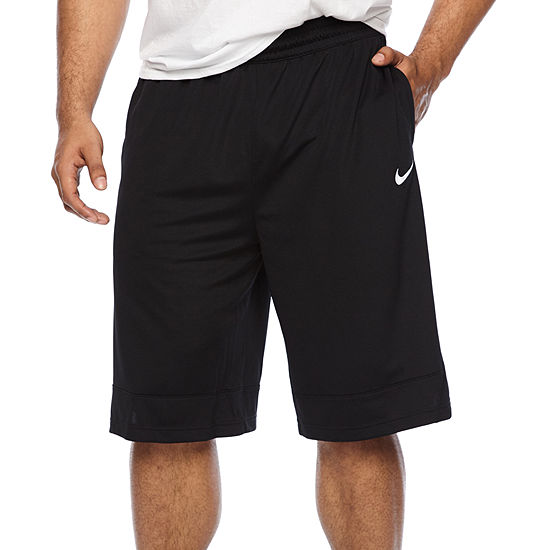 Nike Mens Moisture Wicking Basketball Short Big and Tall