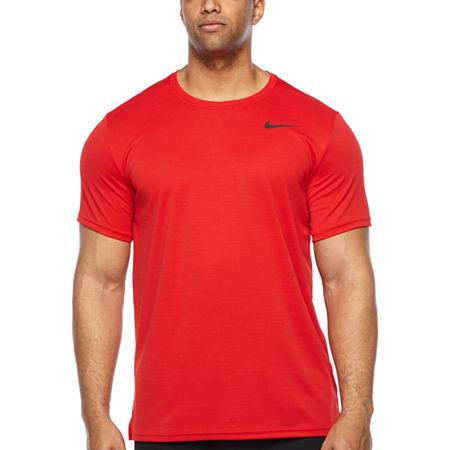 Nike-Big and Tall Mens Crew Neck Short Sleeve Moisture ...