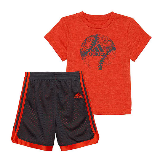 adidas Boys 2-pc. Short Set Toddler