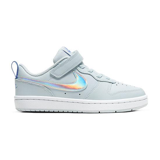 Nike Court Borough Little Kids Girls Sneakers