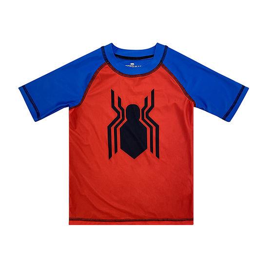 Marvel Toddler Boys Rash Guard