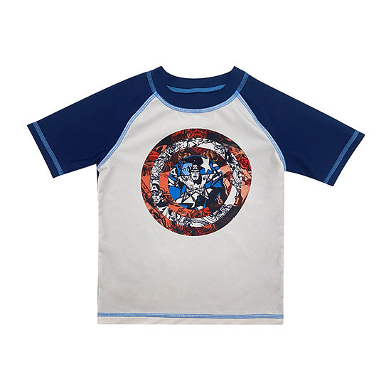 Marvel Little & Big Boys Rash Guard