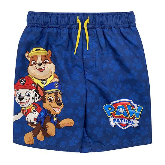 Paw Patrol Boys Character Swim Short Size 4 5//6 7
