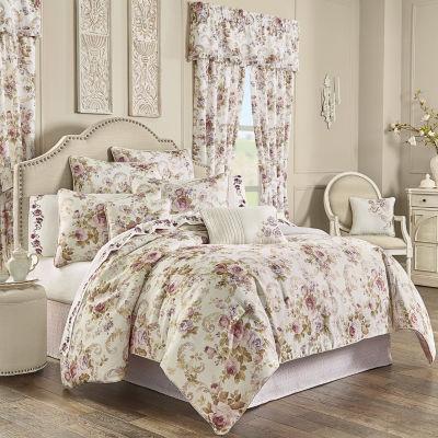 Royal Court Chambord 4-pc. Floral Heavyweight Comforter Set