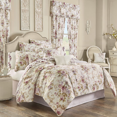 Royal Court Chambord 4-pc. Floral Heavyweight Comforter Set