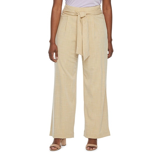 Worthington Loose Fit Wide Leg Trouser - Tall