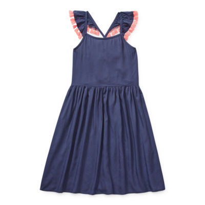 Arizona Little & Big Girls Sleeveless A-Line Dress