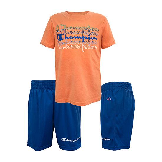Champion Little Kid Boys 2-pc. Short Set