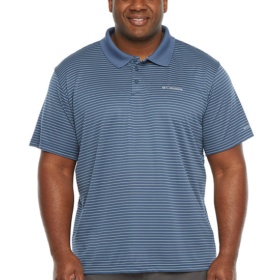 Columbia Utilizer Mens Short Sleeve Polo Shirt - Big and Tall