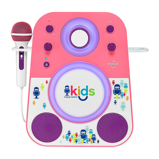 Singing Machine Kids Mood Bluetooth Karaoke System