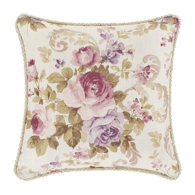 Royal Court Chambord 16x16 Square Throw Pillow