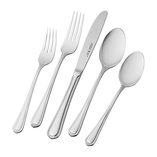 Henckels Alcea 20-pc. 18/10 Stainless Steel Flatware Set
