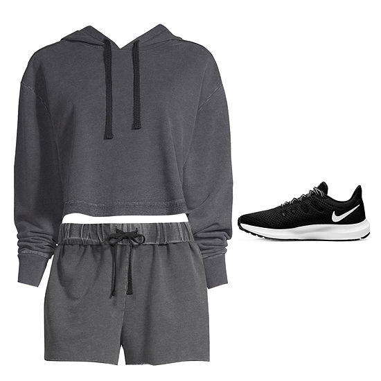 Active Everyday: Cropped Hoodie and Mid-Rise Shorts