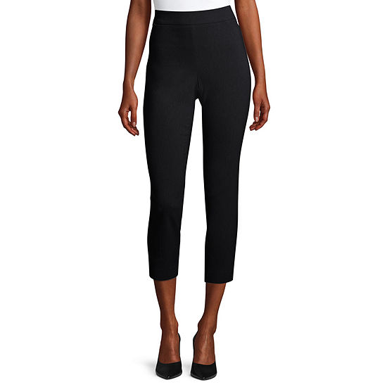 Liz Claiborne Womens Slim Pull-On Pants