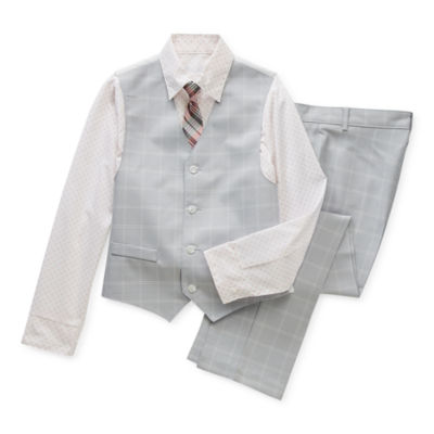 Van Heusen Little & Big Boys 4-pc. Suit Set