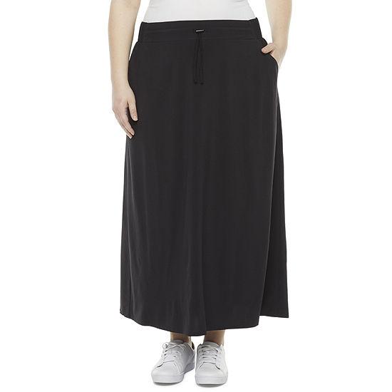 Stylus Womens Maxi Skirt - Plus
