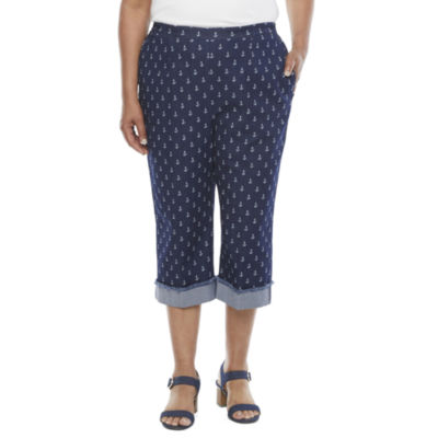Alfred Dunner Anchor's Away Plus Capris