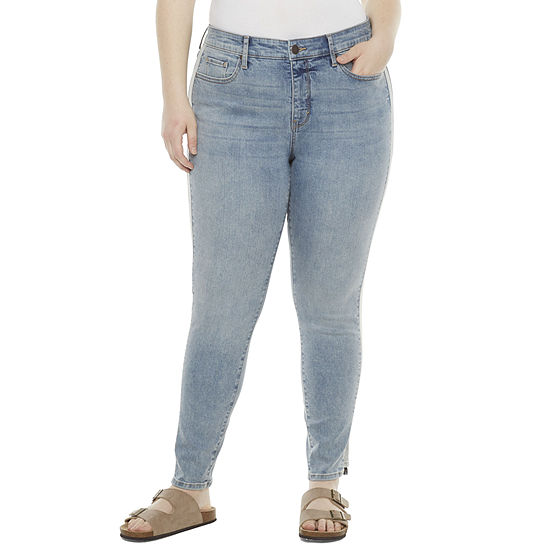 a.n.a-Plus Womens High Rise Skinny Jean
