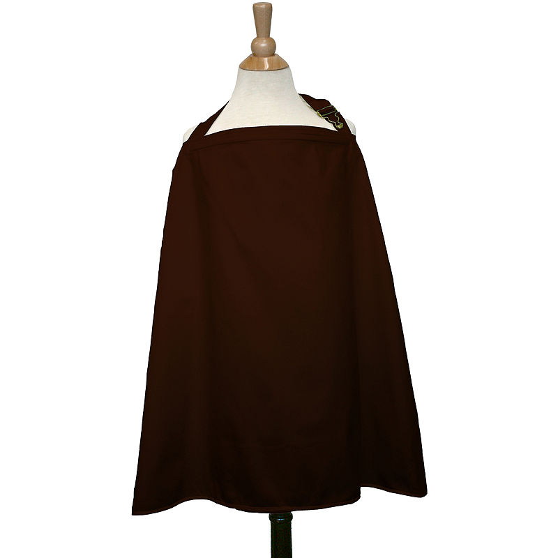 The Peanut Shell Nursing Cover - Chocolate plus size,  plus size fashion plus size appare