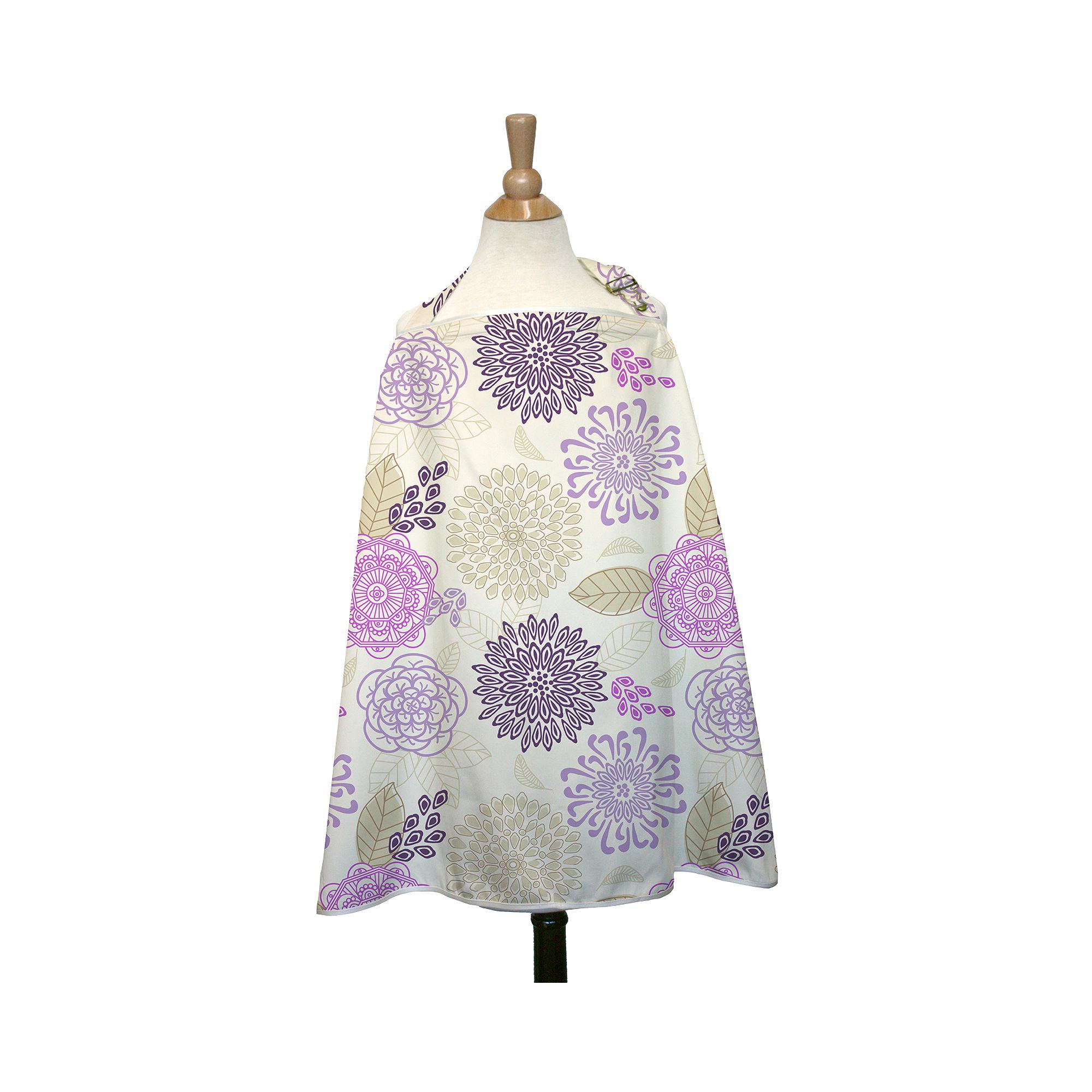 The Peanut Shell Nursing Cover - Dahlia plus size,  plus size fashion plus size appare