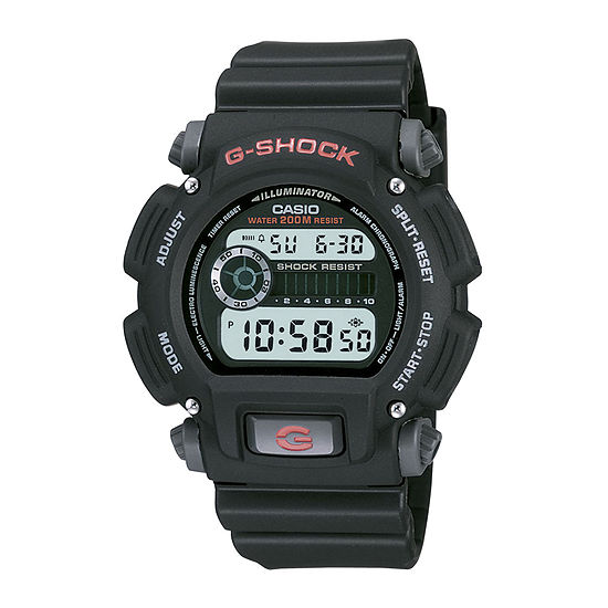 Casio® G-Shock Mens Digital Black Strap Watch DW9052-1V