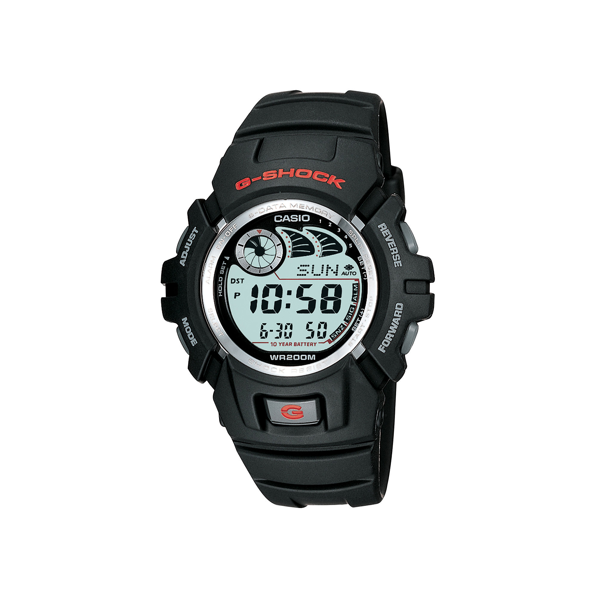 Casio G-Shock Mens E-Data Digital Watch G2900F-1V