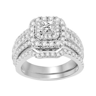 2 CT. T.W. Diamond Bridal Set