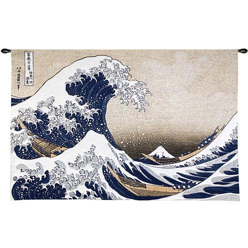 Art.com The Great Wave at Kanagawa, c.1829 Wall Tapestry