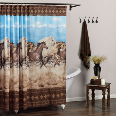 Zenna Home™ Running Free Shower Curtain