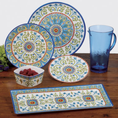 jcpenney.com | Certified International Tuscany Melamine Dinnerware Collection
