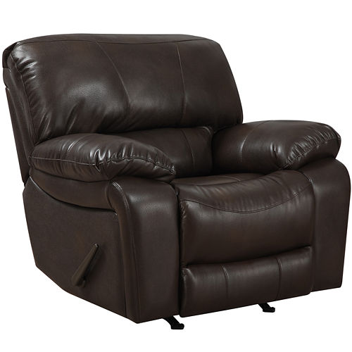 Kerrison Faux-Leather Rocker Recliner