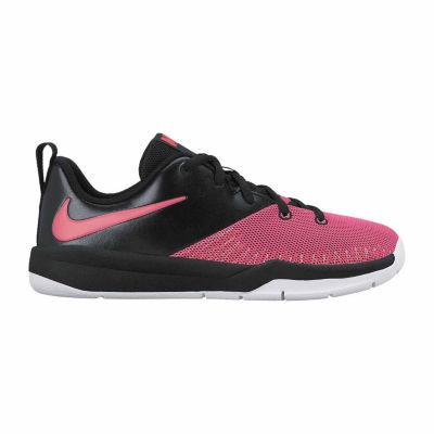 Nike Team Hustle D 7 Low Girls Basketball Shoes - Big Kids