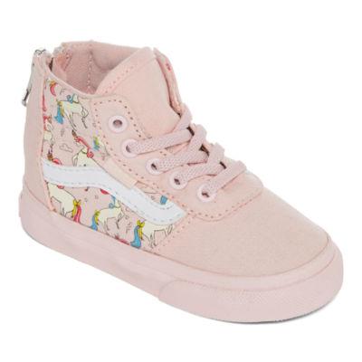 Vans Maddie Hi Zip Girls Skate Shoes - Toddler