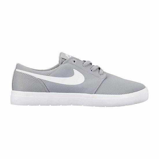 Nike Portmore Ii Ultralight Lace-up Skate Shoes - Big Kids Boys