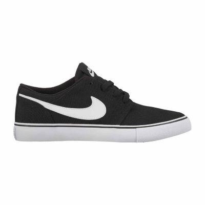 Nike Sb Portmore Ii Canvas Boys Skate Shoes - Big Kids