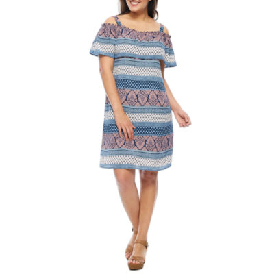 Luxology Off The Shoulder Peasant Dress