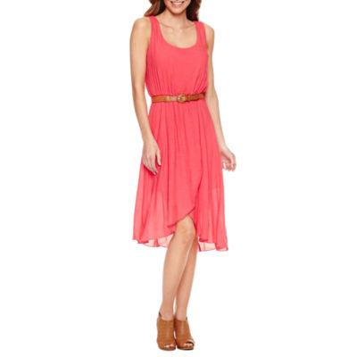 Secret Charm Sleeveless Fit & Flare Dress