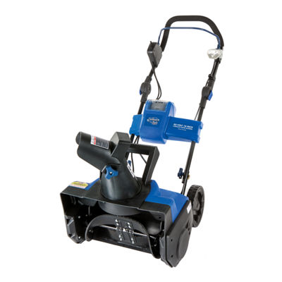 Snow Joe iON 40-Volt Cordless 18-Inch Single StageBrushless Snow Blower with Rechargeable Battery