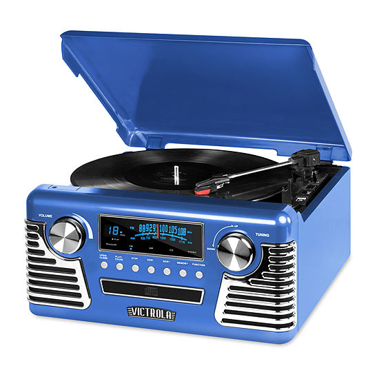 Victrola V50-200 50's Retro Stereo with Turntable, CD Player and Bluetooth