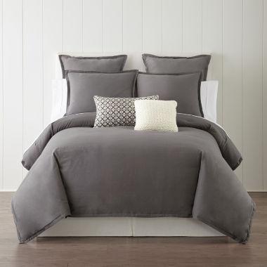 jcpenney.com | Studio™ Caden Linen Blend 3-pc. Comforter Set & Accessories