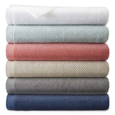 JCPenney Home™ Generous Solid Bath Towel Collection