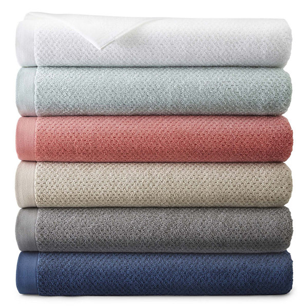JCPenney Home™ Generous Solid Bath Towel Collection - JCPenney
