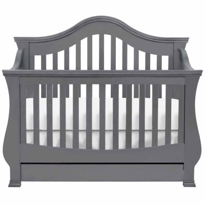 Ashbury 4-in-1 Convertible Crib with Toddler Rail