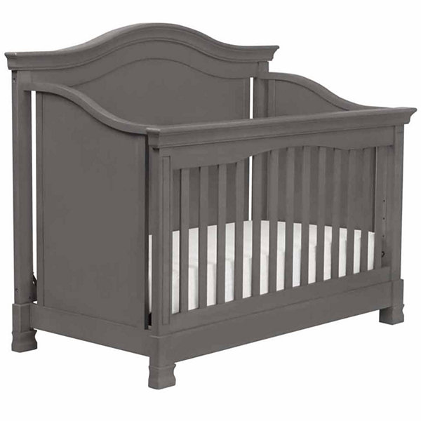 Davinci 4-in-1 Convertible Crib with Toddler Rail- Manor Grey
