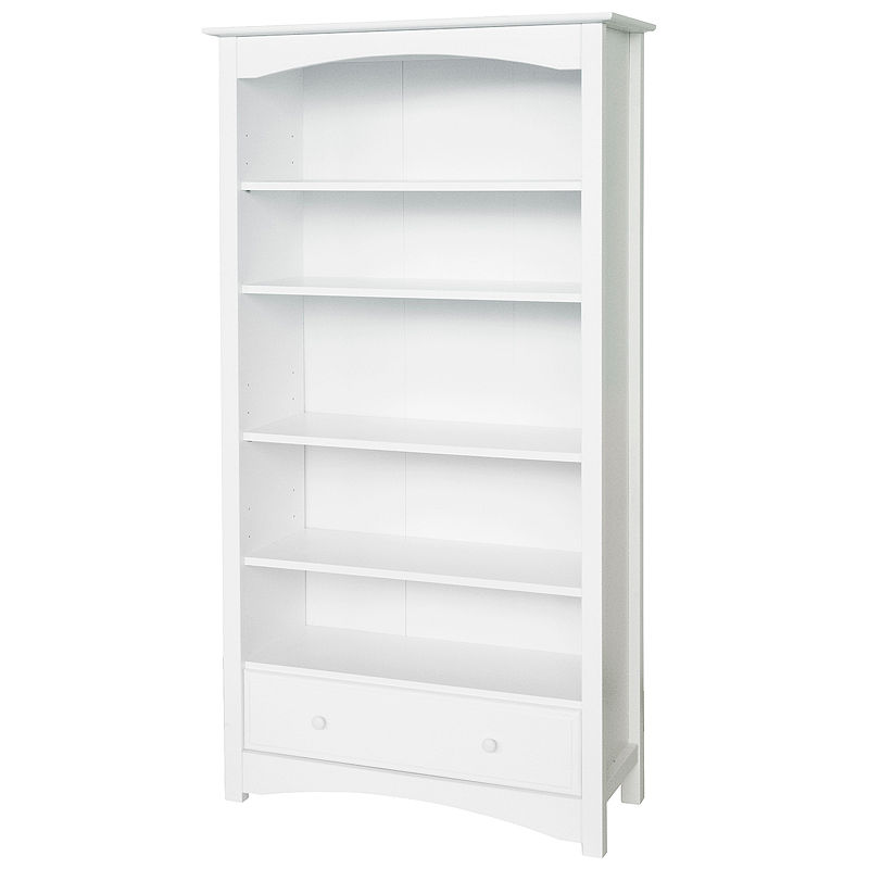 Million Dollar Baby Bookcase- White, White, One Size
