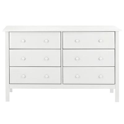 DaVinci Jayden  6-Drawer Double  Dresser - White