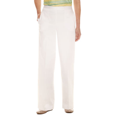 Alfred Dunner Flat Front Pants